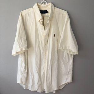 new // {men's} Ralph Lauren | White Button Down